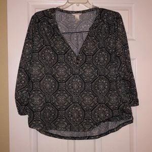 Like new H&M tulip hem top